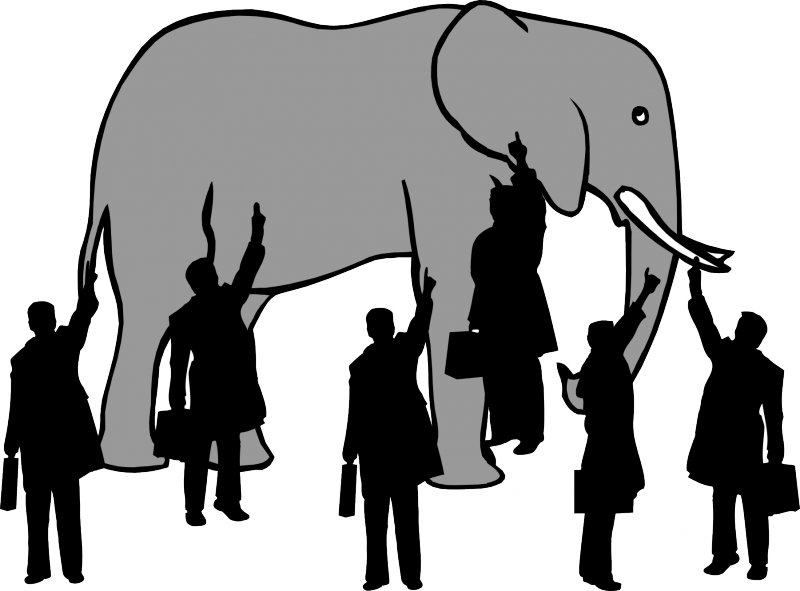 the blind men and the elephant - 913×768